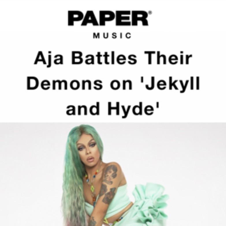 PAPER MAGAZINE - AJA (JEKYLL & HYDE)