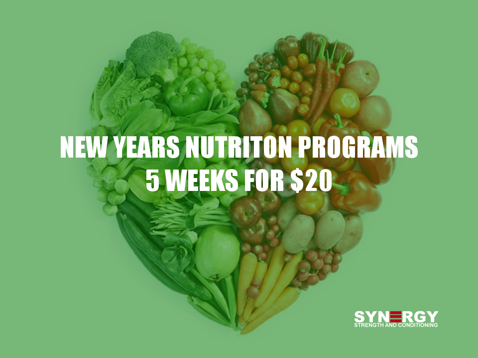 NEW Years NUTRITION Programs