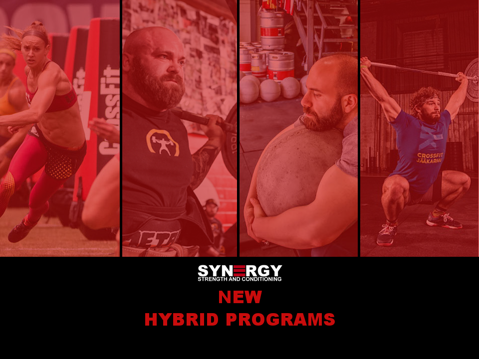 Hybrid programs for OLY & POWER begin this week - check them out at the Hybrid blog page.