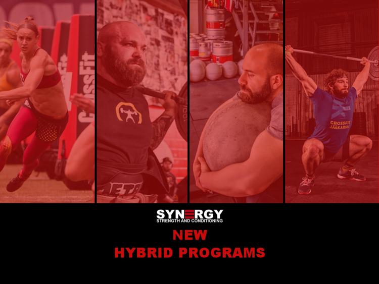 Hybrid Programs - Full on this week.