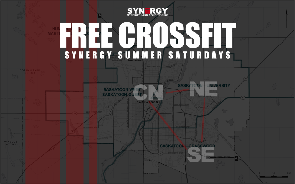 Reminder we are at South East today - Central will be closed to CF classes.