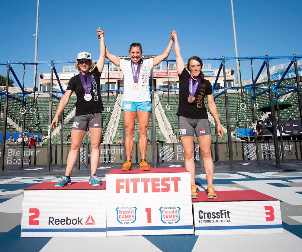 Laurie M @ 2015 Masters CrossFit Games
