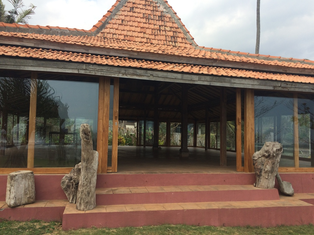 Day 1 : Joglo Yoga Studio at Pondok Pitaya in Balian