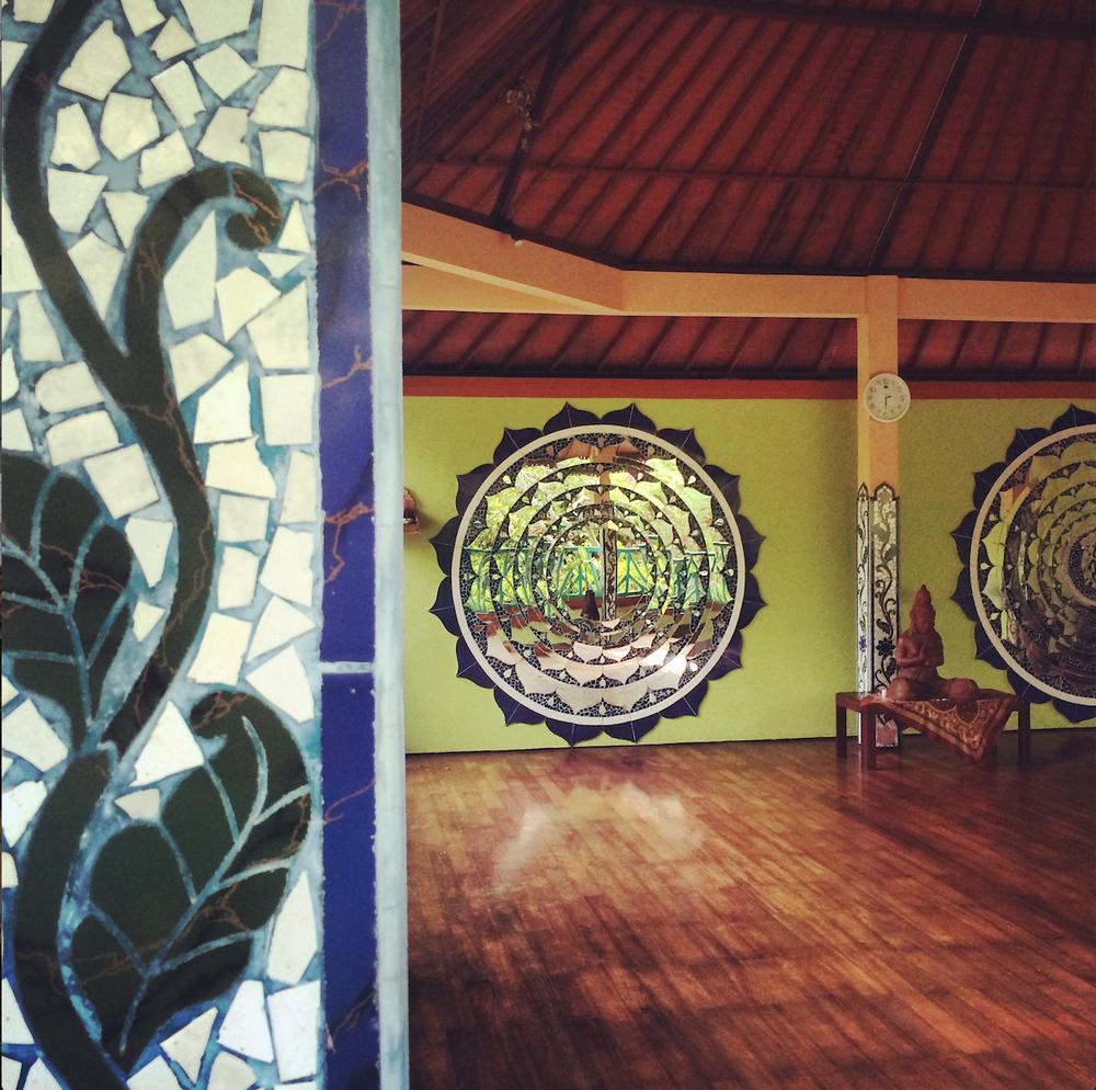 The Sacred Yoga Studio.