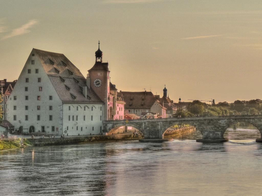 Old Stone Bridge Regensburg