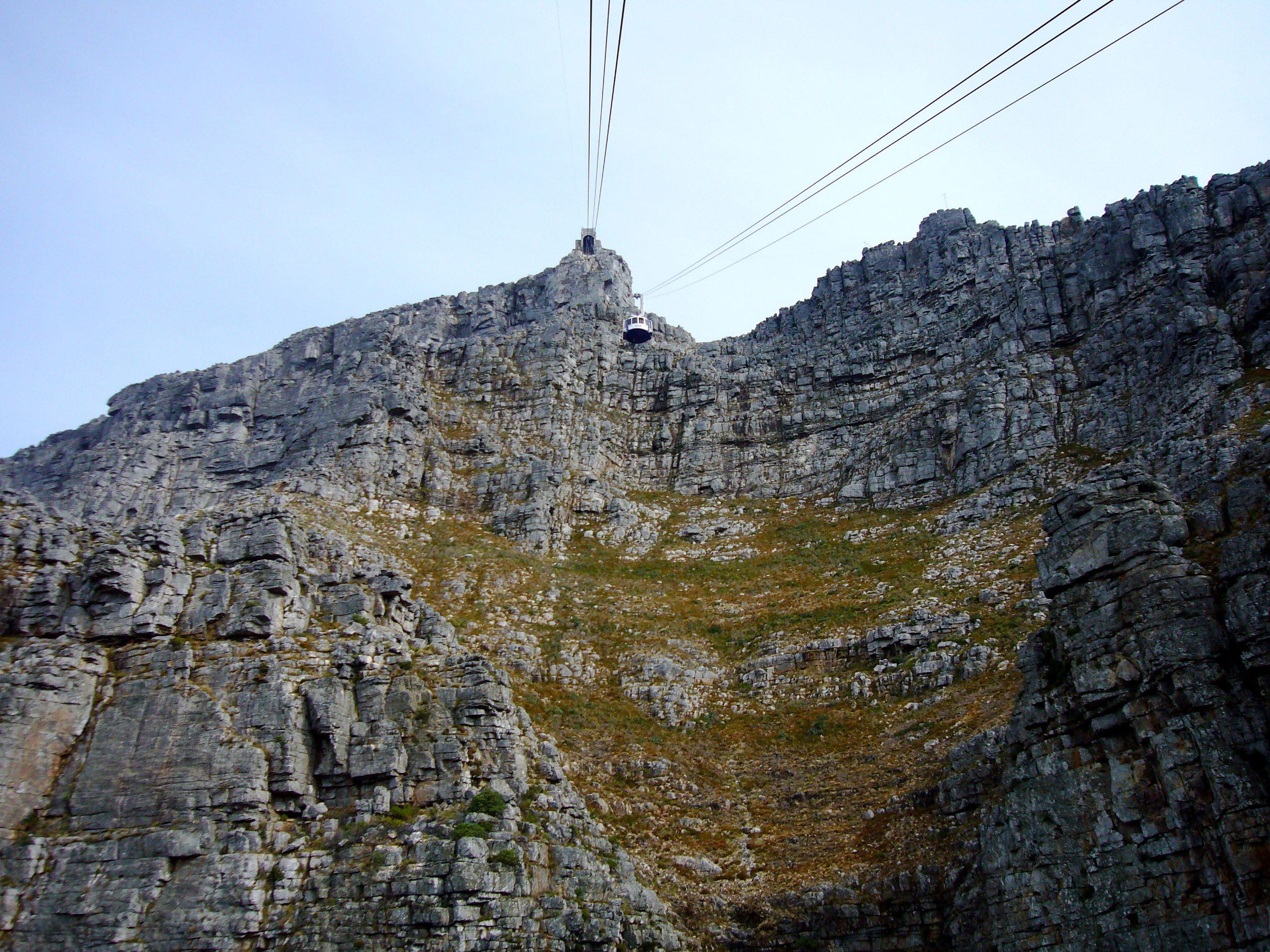 A cablecar ride up to Table Mountain