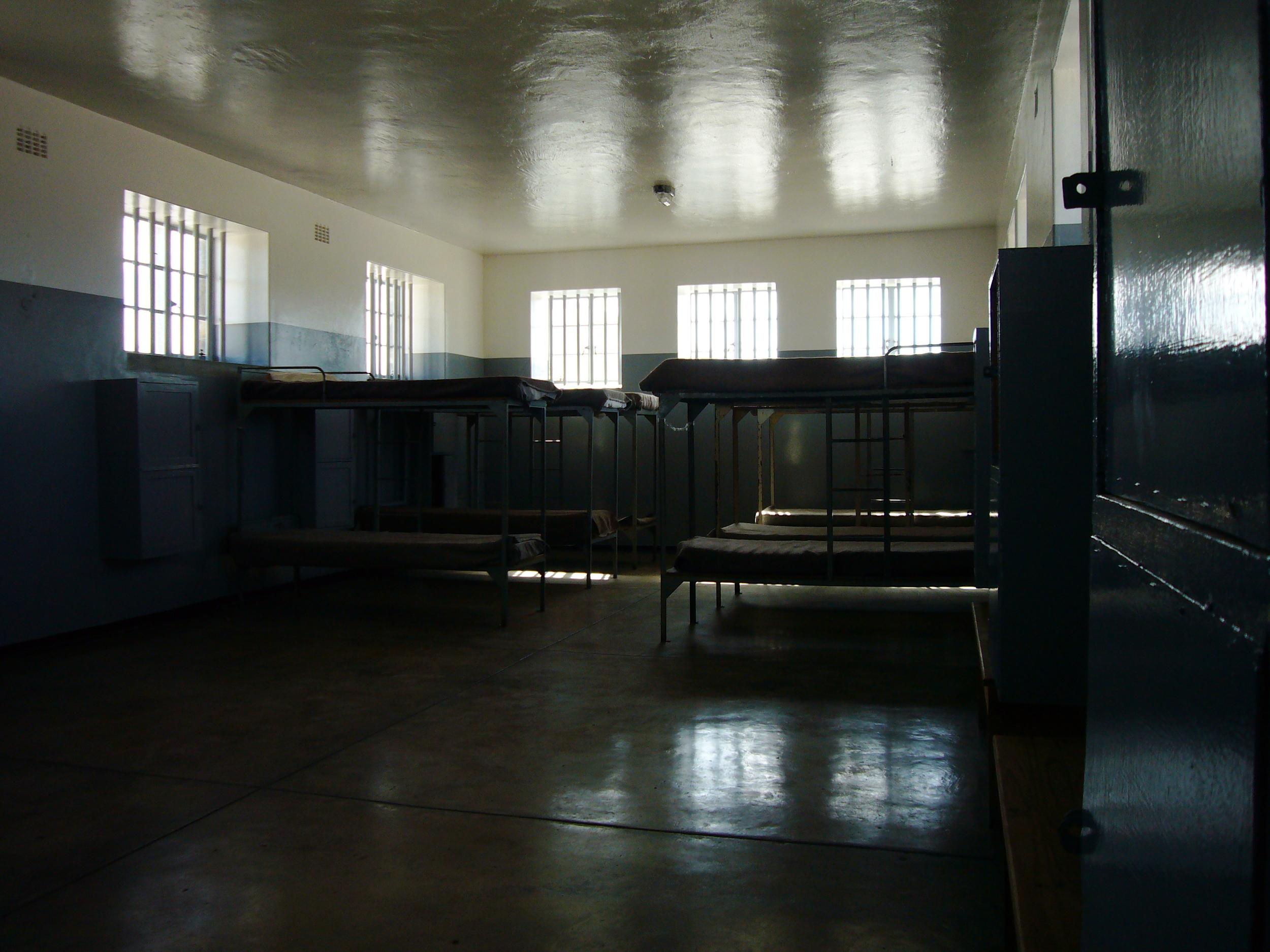 Inside Robben Island