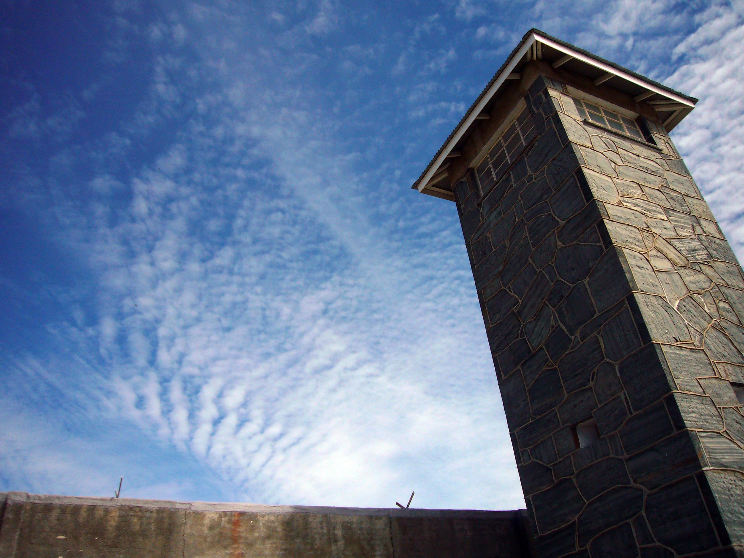 Watch tower, Robben Island