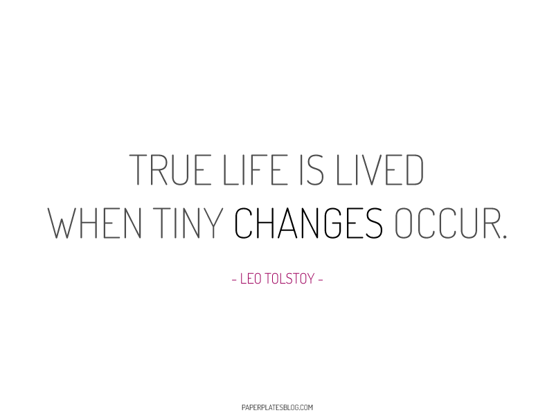 Changes Leo Tolstoy quote