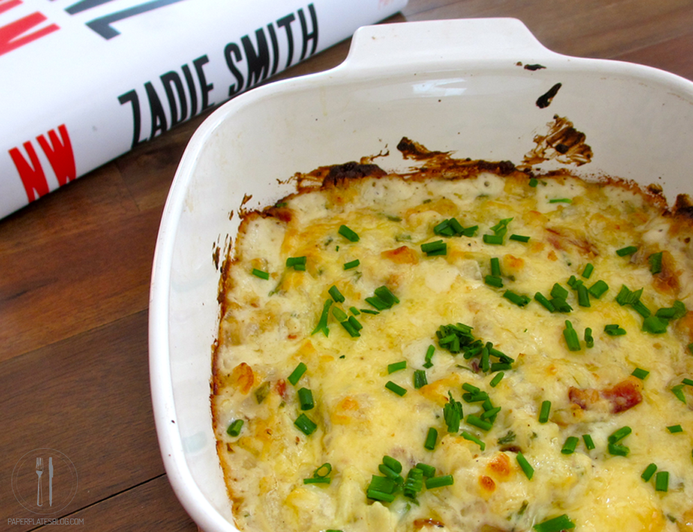 Caramelized onion Gruyere and bacon dip