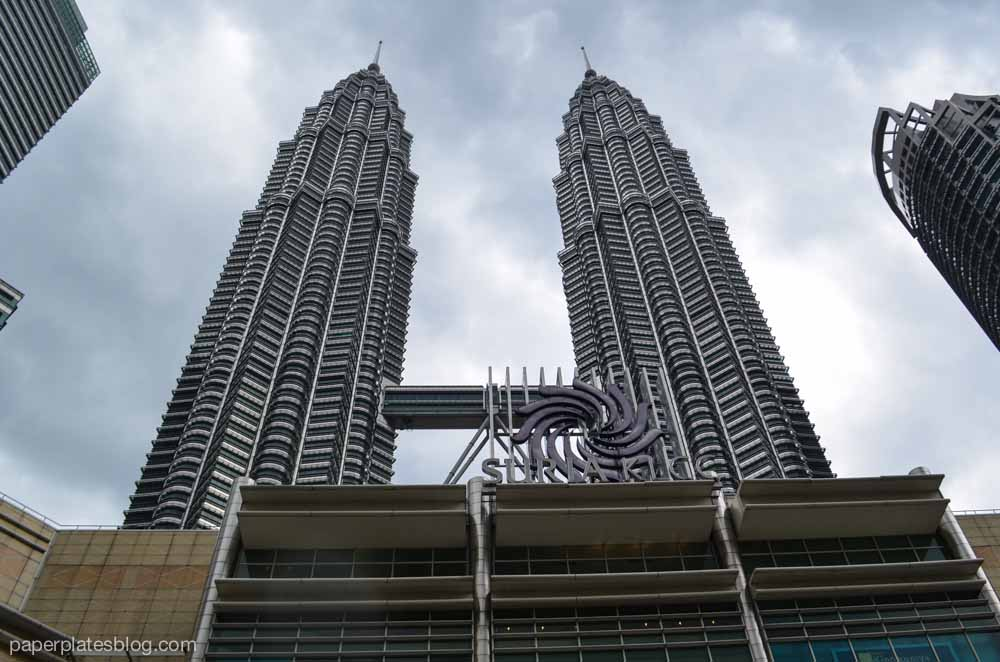Petronas Towers outside