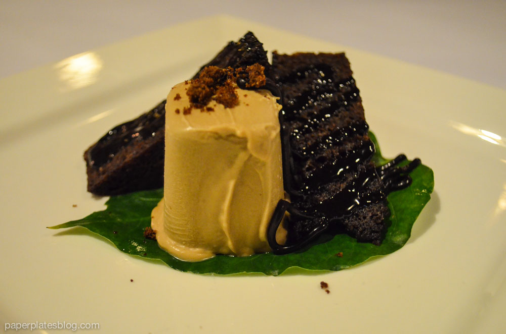 Cardamom chocolate cake