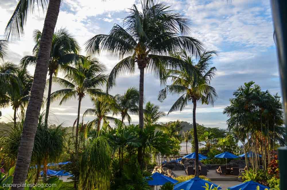 Malaysian resort