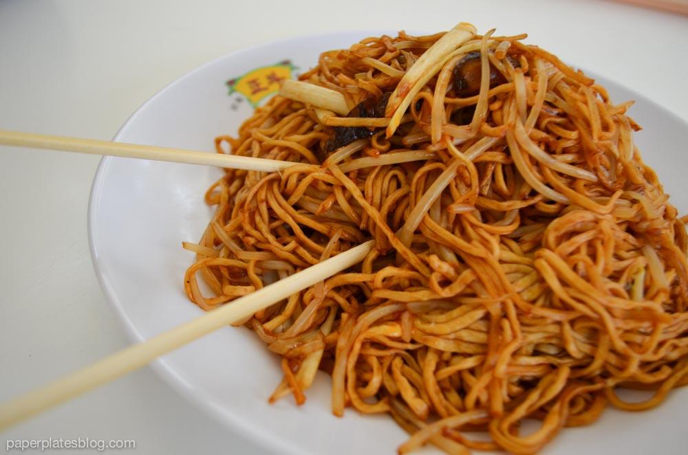 Noodles at HK airport