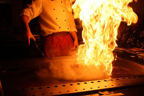 Cooking injuries