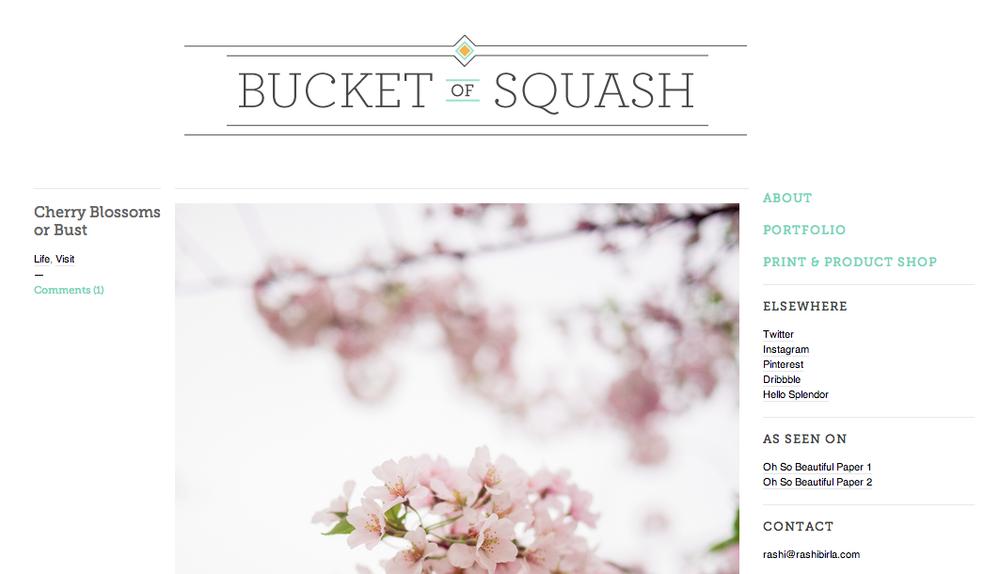 Bucket of Squash