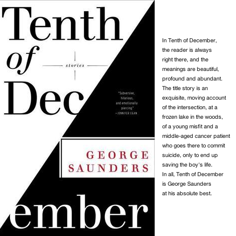 Tenth of December - book club