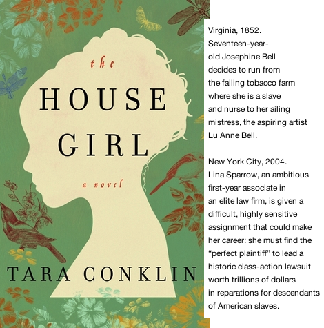 The House Girl - book club
