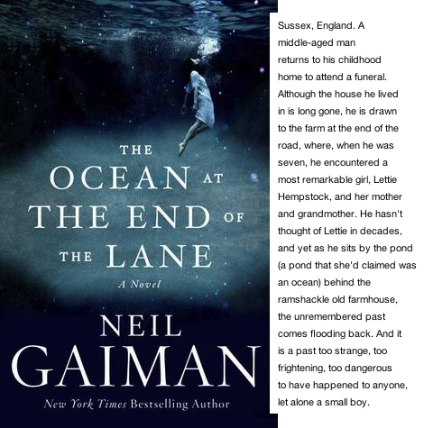 The Ocean at the End of the Lane - book club