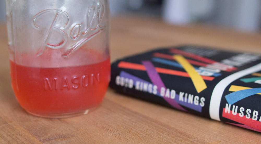 Cold Rhubarb Shrub & Good Kings Bad Kings