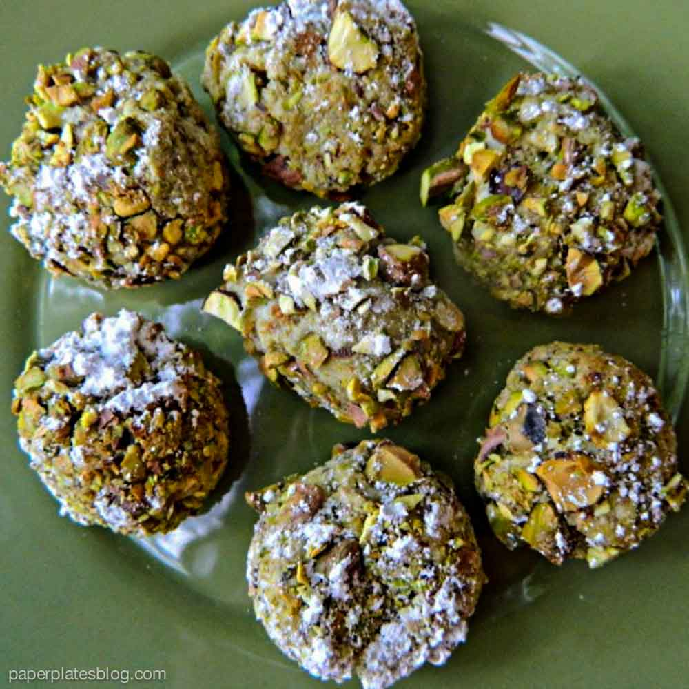 Italian Pistachio Cookies 2
