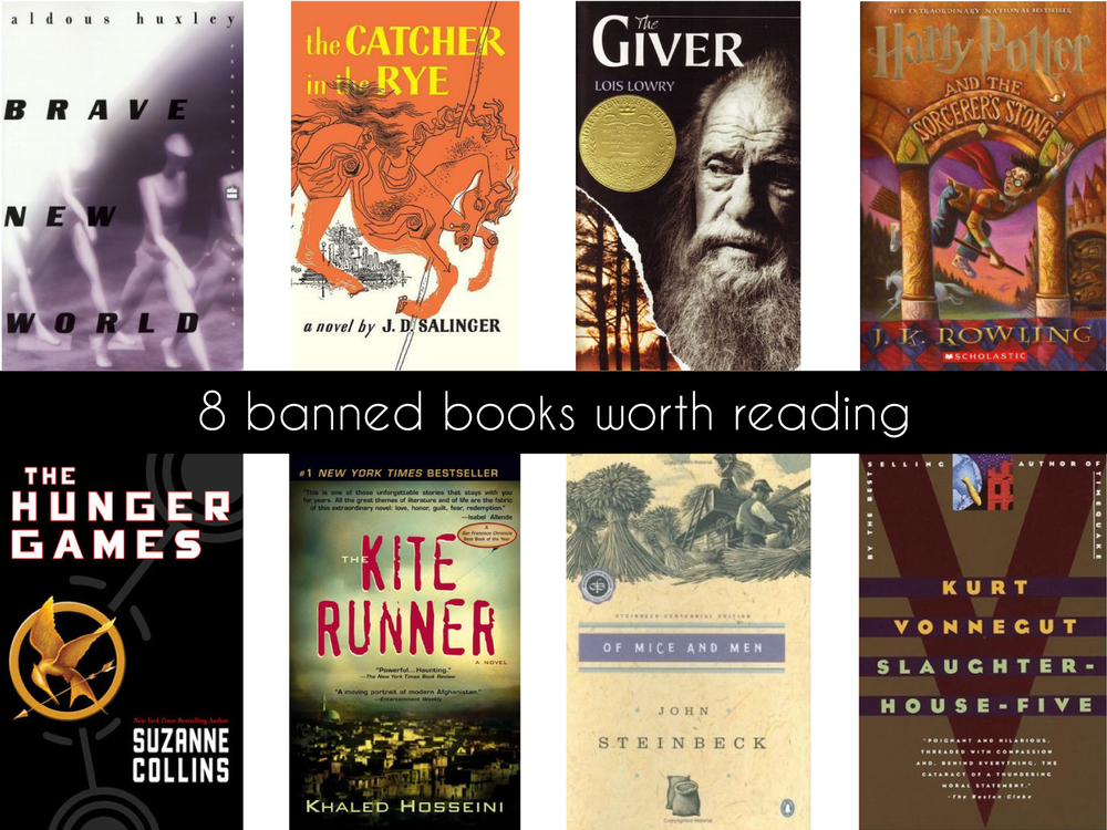 Banned Books Worth Reading