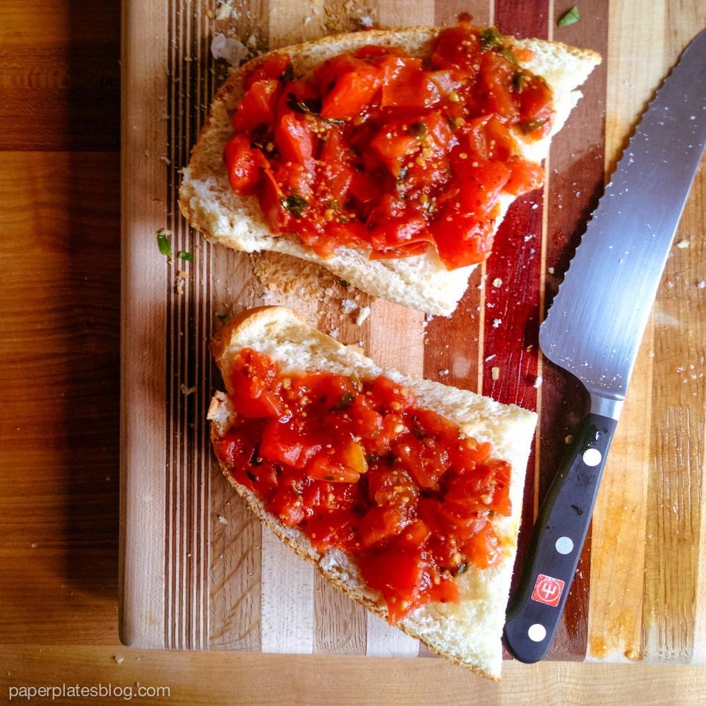 Tomato Breakfast Tartine 2