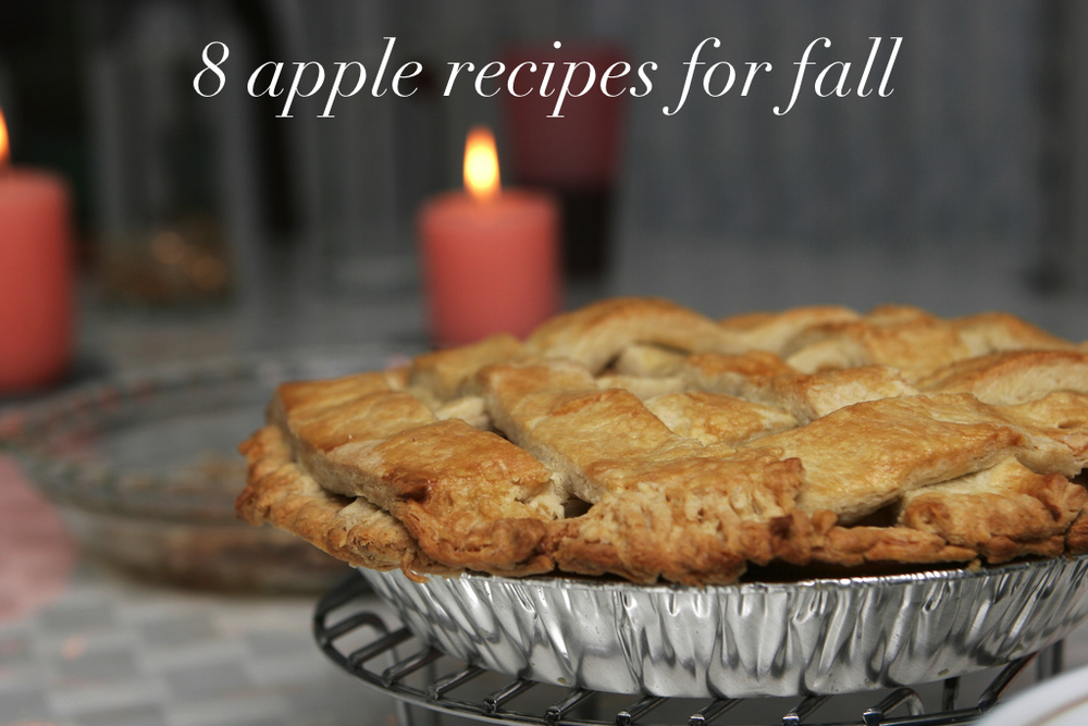 8 apple recipes for fall