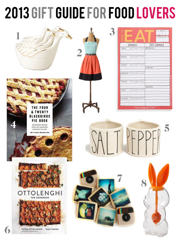 8 Gift Ideas for Food Lovers 2013