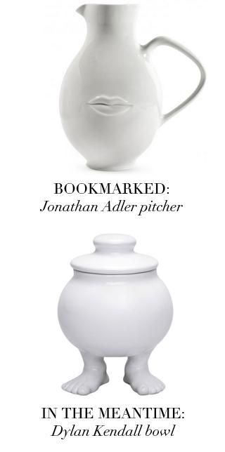 Bookmarked - Anthropomorphic Dishware