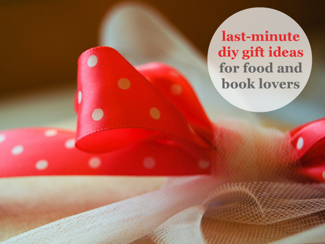 8 Last Minute Diy Gifts For Food And Book Lovers Paper