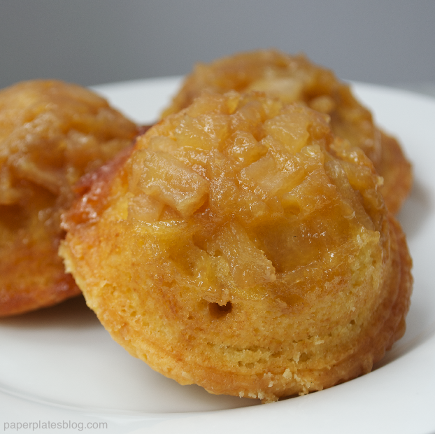 Pear Upside Down Cakes