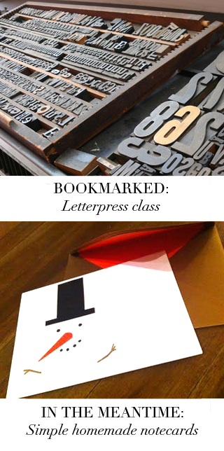 Bookmarked-Notecard