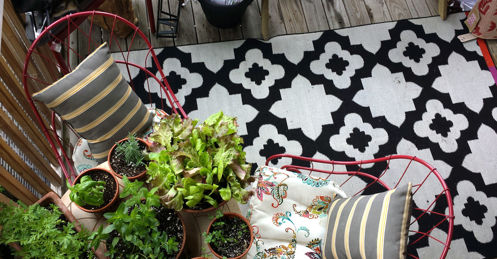 Christina Bello's gorgeous outdoor space.