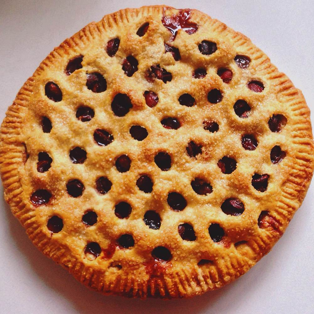 Chai and Pie Co's sweet cherry pie. (Photo by Sukoon Creative)