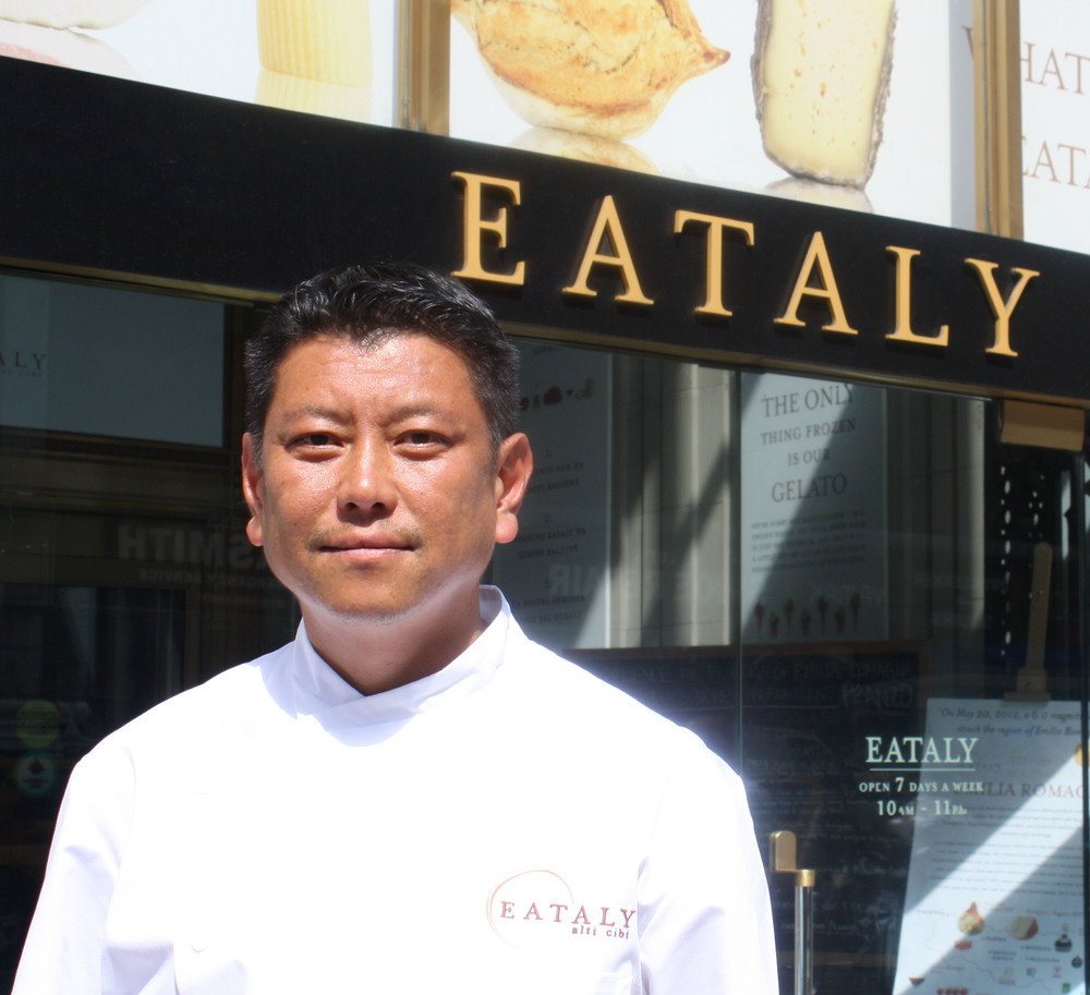 An interview with Eataly's Chef Alex Pilas