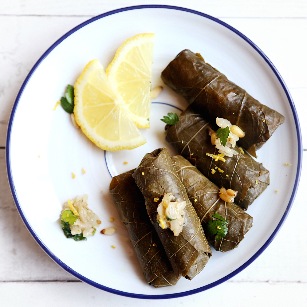 Vegan dolma via Divine Healthy Food
