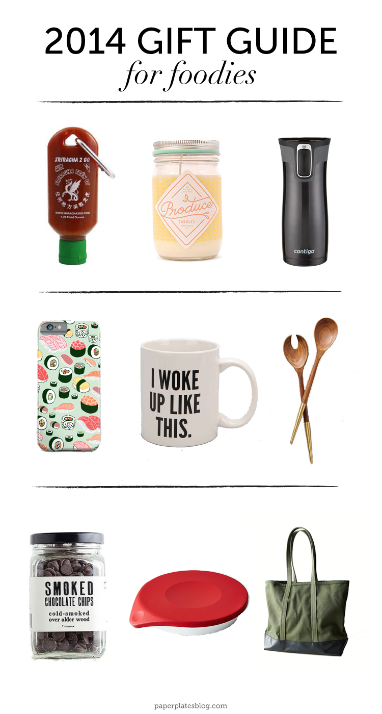 Gift Guide: 9 Gift Ideas for #Foodies | www.paperplatesblog.com