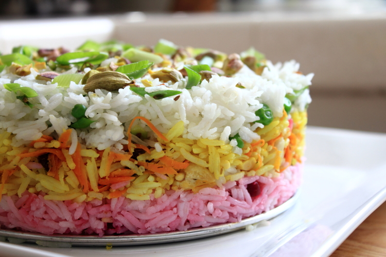 "China Miéville's ""The City & The City"" & Layered Persian Rice"