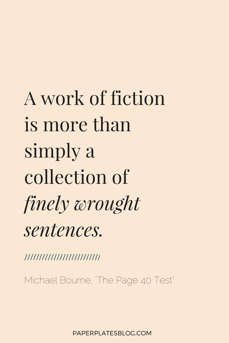 What is fiction? | www.paperplatesblog.com