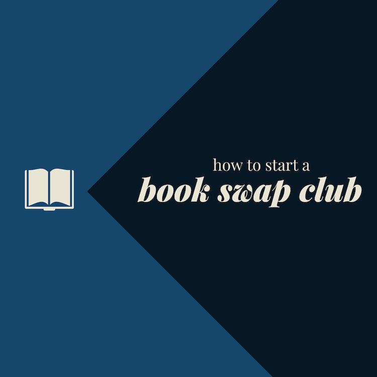 How to start a book swap club | www.paperplatesblog.com