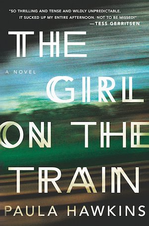 "Pairing: ""The Girl on the Train"" by Paula Hawkins & dark chocolate-white chocolate chip ice cream 