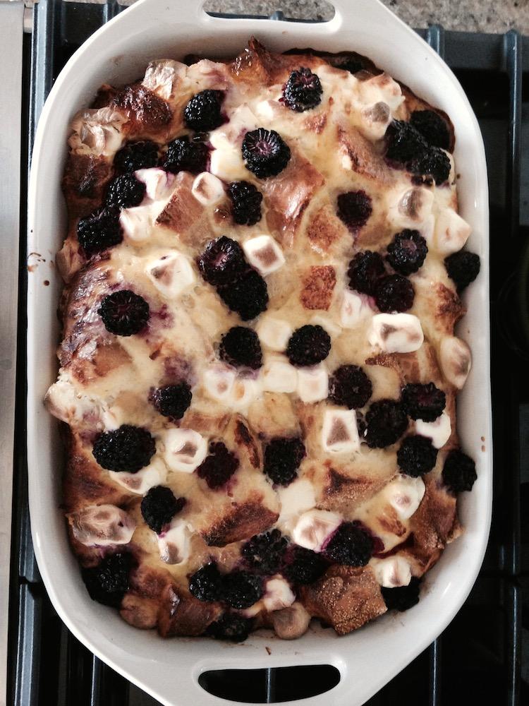"""Bark"" by Lorrie Moore & blackberry french toast casserole | www.paperplatesblog.com"