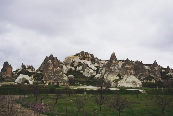 Goreme is full of all sorts of unusual rock formations.