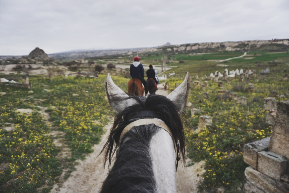 Exploring Cappadocia's vast and varied valleys on horseback was a great way to see a lot in relatively little time.