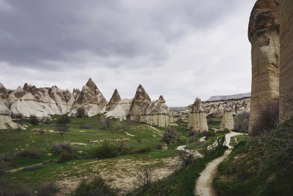 "I think this is what people are thinking of when they call Cappadocia ""otherworldly."""