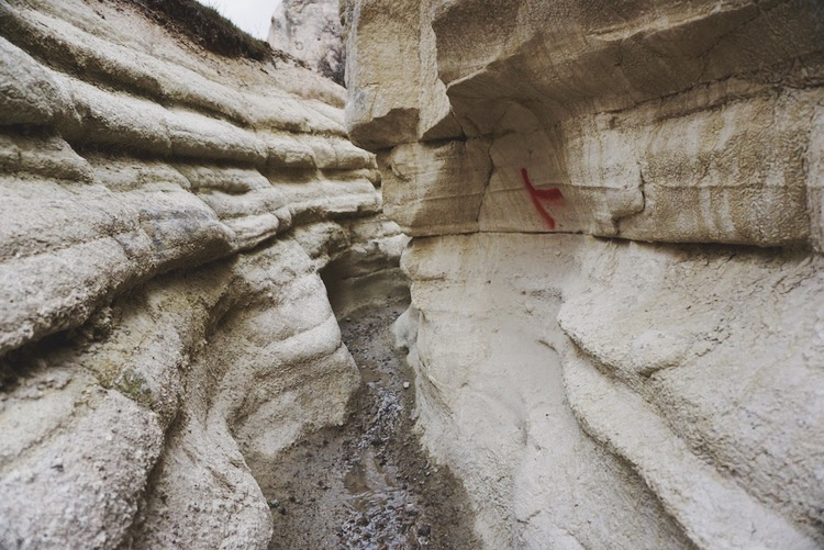Winding paths in Love Valley, Cappadocia, Turkey. | www.paperplatesblog.com