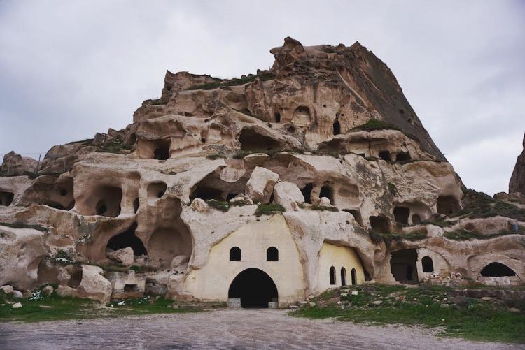 Uchisar Castle.