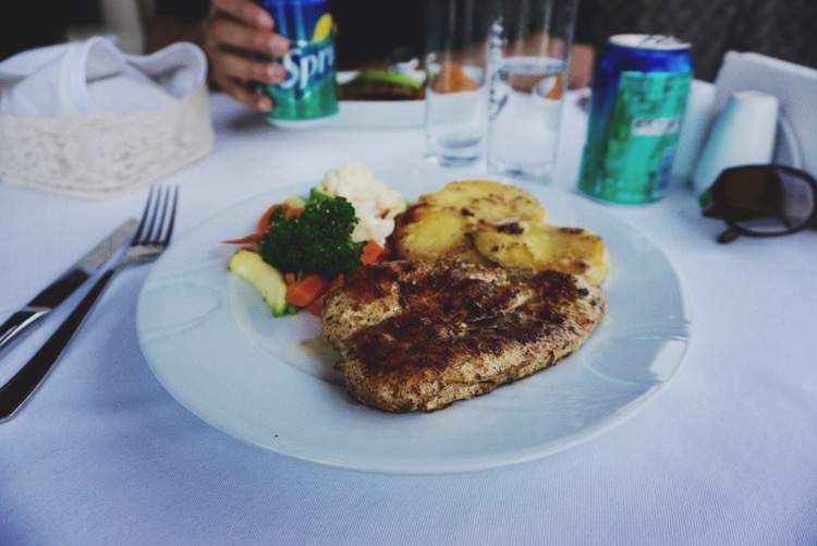 Istanbul food diary - grilled chicken
