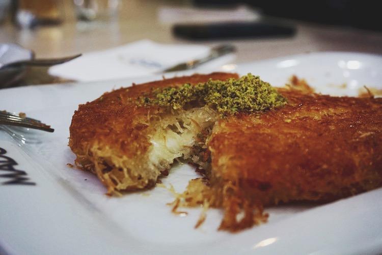 Istanbul food diary - kunefe